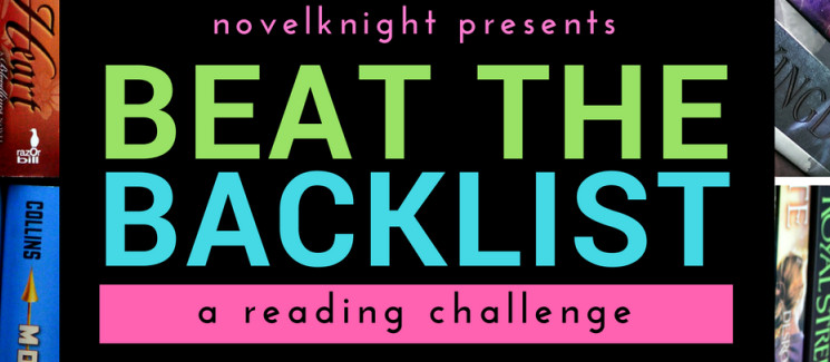 2017 BEAT THE BACKLIST | Reading Challenge